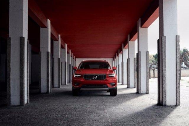 Volvo представила новый кроссовер XC40