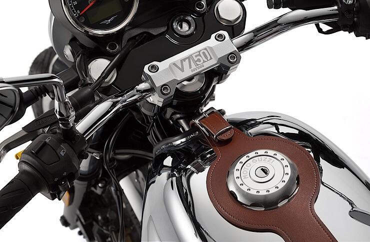Обновленный Moto Guzzi V7 III 2018 года