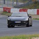 Первый электрокар Porsche вывели на Нюрбургринг