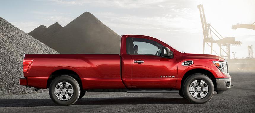 Пикап Nissan Titan выходит на рынок