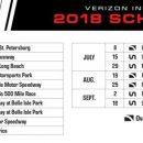 В IndyCar представили календарь на 2018 год