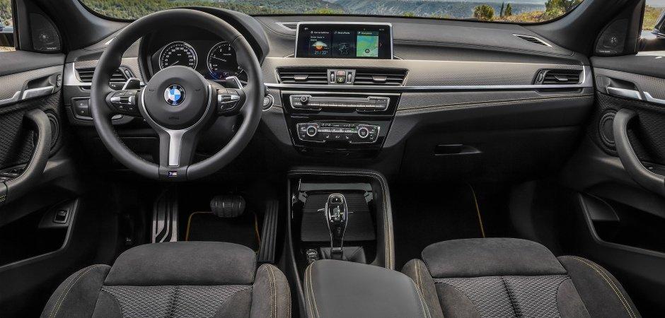 BMW представила серийный кроссовер X2