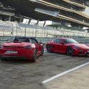 Porsche представил обновленные 718 Boxster/Cayman GTS