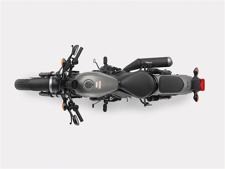 Honda показала байк Rebel 500