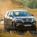 Toyota открыла приём заказов на новый Fortuner