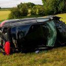 Видео: Как выглядит «жесткая посадка» Audi RS3на скорости 200км/ч