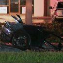 Видео: Жуткое ДТП разорвало Lamborghini пополам