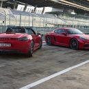 Porsche представил «горячие» родстер икупе 718GTS