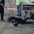 Видео: Драку пилотов на гонке пришлось прервать полиции с шокером