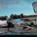 Видео: Полиция час гналась за 10-летним угонщиком-рецидивистом