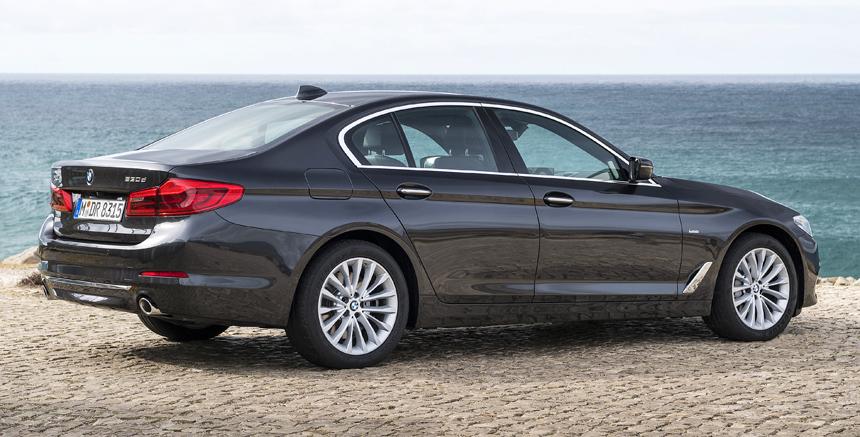 Начались поставки BMW пятой серии калининградской сборки