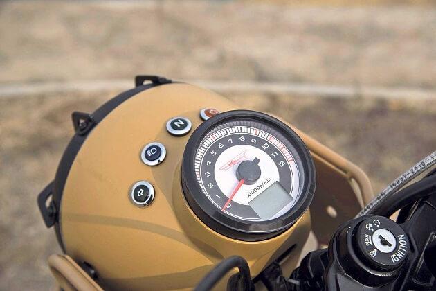 Мотоцикл Chang Jiang