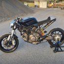 Перевоплощение спортивного Ducati 899 в мощный стритфайтер