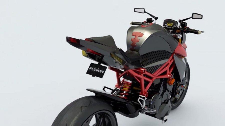 Концепт гибридного мотоцикла Furion Motorcycles