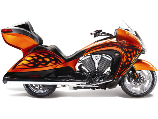 Victory Arlen Ness Vision Tour