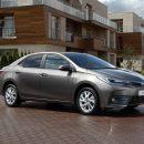 Toyota Corolla прибавила в цене от 8 до 30 тысяч рублей