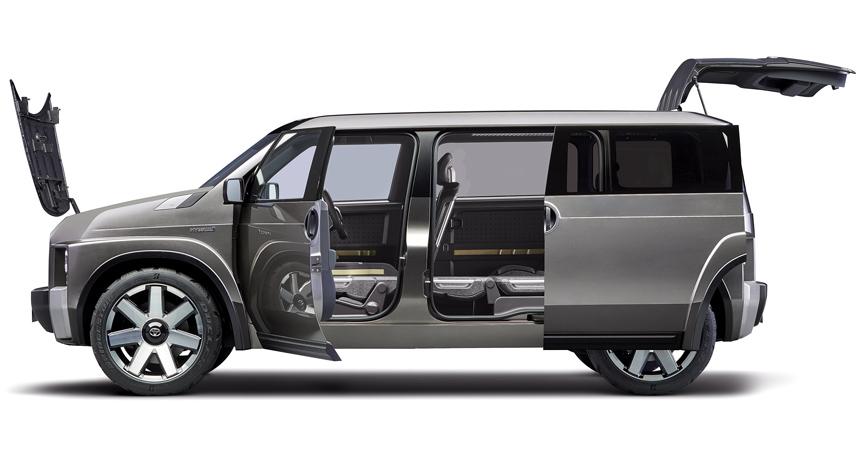 Концепт Toyota Tj Cruiser: броневик, компактвэн или кроссовер?