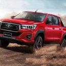 Toyota обновила пикап Hilux