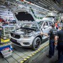 В Бельгии начали собирать кроссоверы Volvo XC40