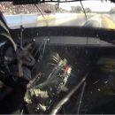 Видео: Коробка на гоночном Mitsubishi взорвалась прямо в салоне