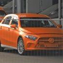 Облик седана и хэтчбека Mercedes-Benz A-Class полностью раскрыт
