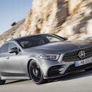 Mercedes-Benz представил треть поколение стильного CLS-Class