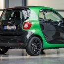Электрический Smart появится в России в следующем году