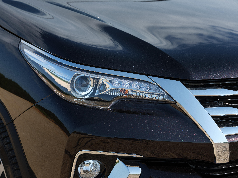 Первые Toyota Fortuner прибыли