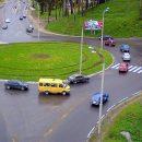Новые правила проезда кругового перекрестка вступают в силу завтра