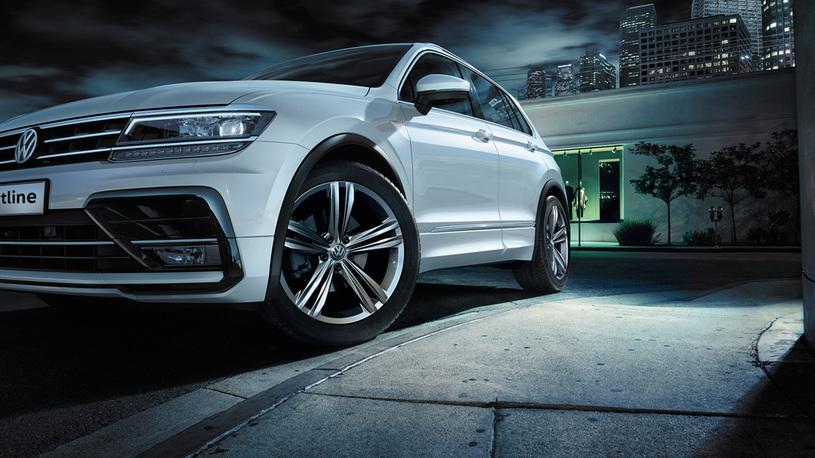 Начались продажи «спортивного» Volkswagen Tiguan