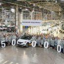 Renault собрала 50-тысячный кроссовер Kaptur