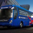 Hyundai представила автобус сборной России на Чемпионате мира по футболу
