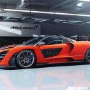 McLaren раскрыл гиперкар созданный в честь Айртона Сенны