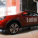 С конвейера «Lada Ижевск» сошел 5-миллионный автомобиль