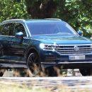 Первые фото совершенно нового Volkswagen Touareg появились в Сети