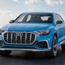 Новый флагманский кроссовер Audi появится в России в 2018 году