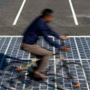 Китайскую дорогу научили зарабатывать на солнечном свете