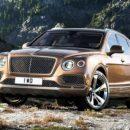 Кроссовер Bentley получит двигатель V8