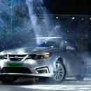 Китайцы начали выпуск электромобиля на базе Saab 9-3