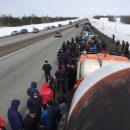 Руководитель забастовки дальнобойщиков арестован на 15 суток
