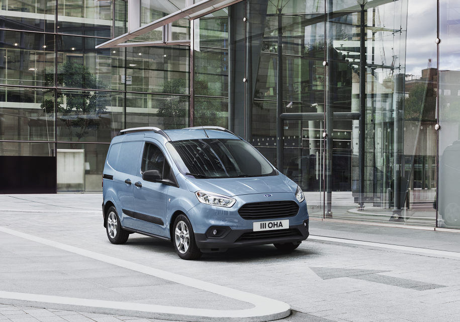 Ford обновил фургоны Transit Connect и Courier