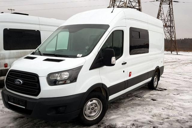 Более 1400 микроавтобусов Ford Transit проданы по госконтрактам