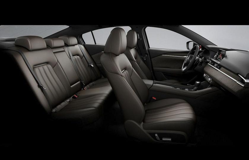 Обновленную Mazda6 показали живьем