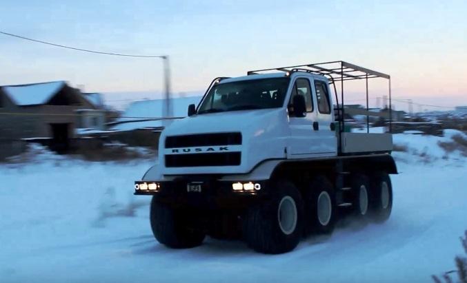 В Набережных Челнах стартует производство вездехода Rusak-3918