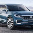 Новый Volkswagen Touareg представят весной