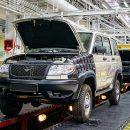 УАЗ начнет год с остановки конвейера на месяц