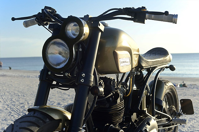 Bull City Customs Royal Enfield AVL350